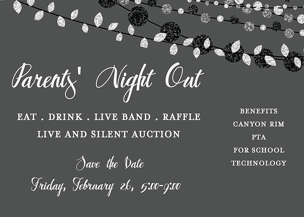 Parents' Night Out Feb 26th